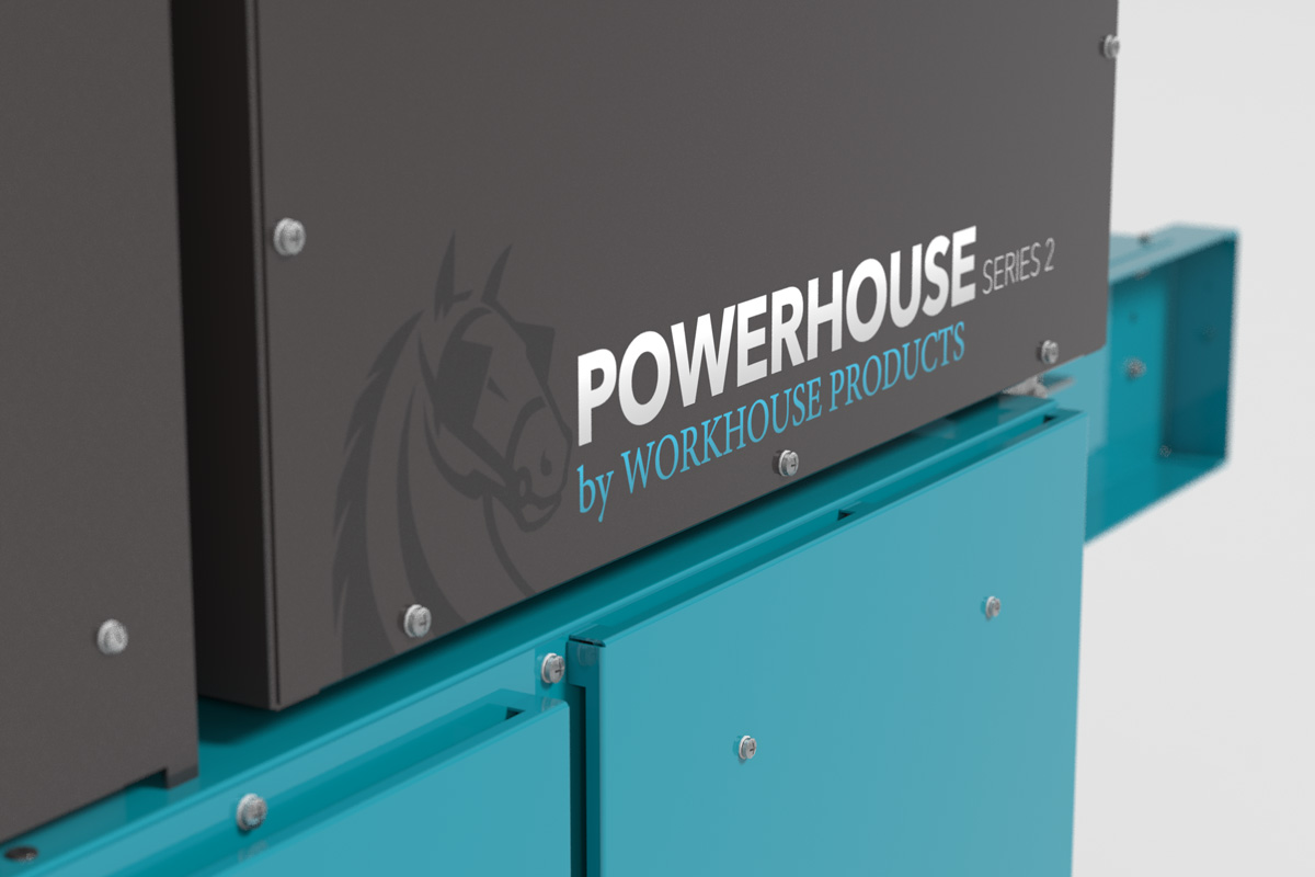 Workhorse Products Conveyor Dryer Closeup