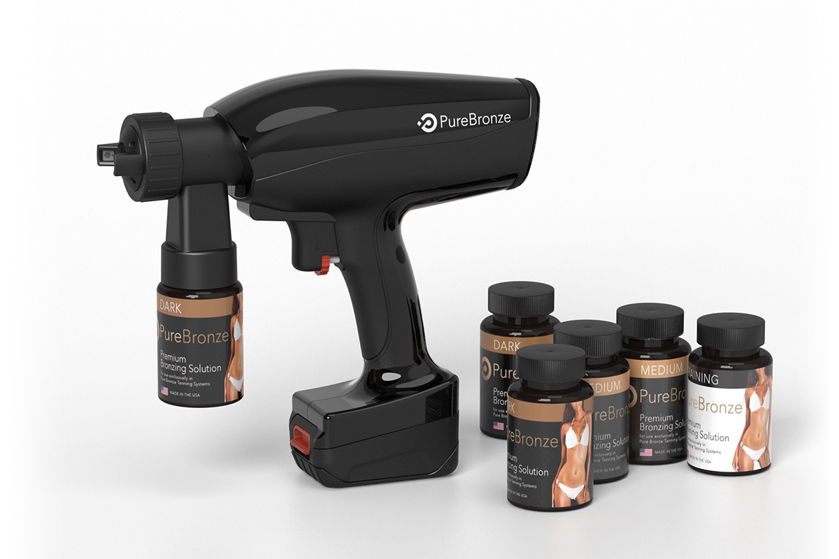 Product image of Pure Bronze Spray Tanning Products