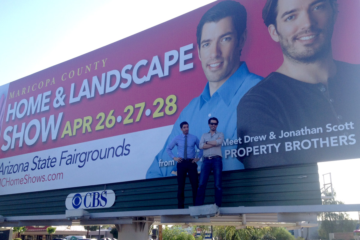 Home & Garden Property Brothers Billboard