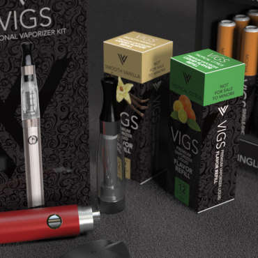 Vigs eCig Product packaging
